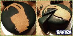 I did it! I made a #lokified birthday #cake for my little birthday party! I bet #Loki would like it!