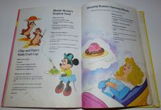 Walt disney's mickey mouse cook book11