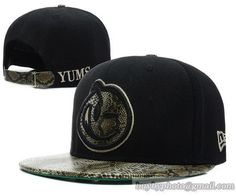 YUMS Strapback Black Snakeskin only US$8.90,please follow me to pick up couopons.