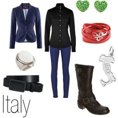 Character Inspired Fashion - Italy.