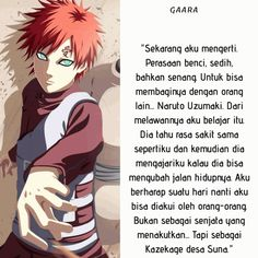 Gaara, Naruto Uzumaki, Boruto, Quotes Indonesia, Film, Memes, Anime, Friends, Movie