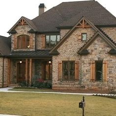 1000 Images About Brick And Rock Exteriors On Pinterest