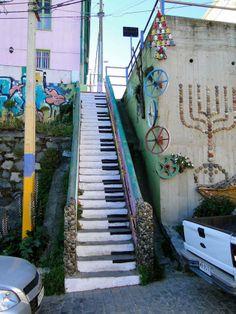 As melhores cidades para quem gosta de Street Art - Valparaízo