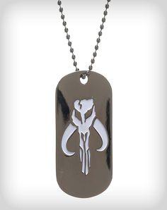 Warriors of Mandalore Symbol Dog Tag