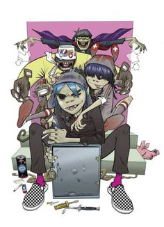 art from Jamie Hewlett