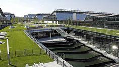 Die Neue Messe Stuttgart ist eines der modernsten Messezentren Deutschlands. Durch durchdachtes Energiemanagement wird die Effizienz der erneuerbaren Energien hier optimiert.