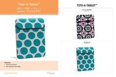 New! Tote-A-Tablet Available Sept 1, 2013