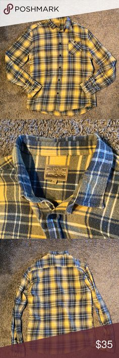 Free Nature Plaid Shirt Men's Size Large Bought this piece from Nordstrom. Wore it once or twice - perfect condition! Very soft Free Nature Shirts Casual Button Down Shirts