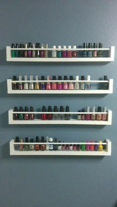 Organizador pinturas de uñas 2