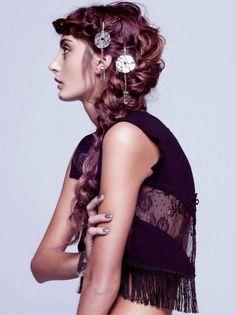 gorgeous hippie braid