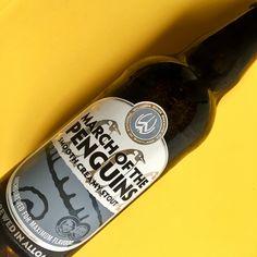 March of the Penguins, Smooth Creamy Stout - Williams Bros. Brewing Co. Ecosse. D'un noir d'encre de Chine, avec des notes de réglisse et de grillé, avec de la suavité et une légère acidité. 13/20 (mai 2017).