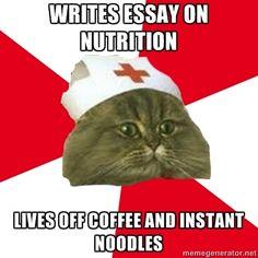 Fuck Yeah Nursing Student Cat