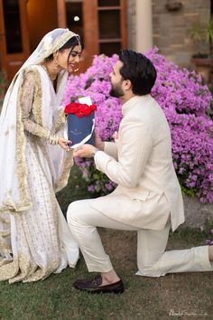 Nikkah Dress, Pakistani Bridal Dresses, Pakistani Outfits, Wedding Dresses For Girls, Girls Dresses, Tattooed Couples Photography, Prince Suit, Cool Girl Pic, Fancy Bows