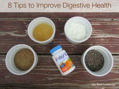 8 Tips to Improve Digestive Health. #NaturalProbiotic #shop #cbias
