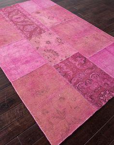 Jaipur Provenance - Wool PW03 Fuchsia/Fuchsia Closeout Area Rug - Spring 2014