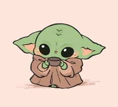 T on me patiently waiting for the next episode of themandalorian i star wars anime hintergrundbilder every picture we have of baby yoda for all your general and meme ing needs Cartoon Wallpaper Iphone, Disney Phone Wallpaper, Kawaii Wallpaper, Cute Cartoon Wallpapers, Cute Disney Drawings, Cute Kawaii Drawings, Cute Animal Drawings, Adorable Drawings, Yoda Drawing