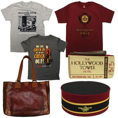 """Last summer, I gave you a first look at a new merchandise collection called """"Hollywood Tower Hotel Authentic"""" that was inspired by the Twilight Zone Tower of Terror attraction at Disney Parks. Disney World App, Disney World Theme Parks, Disney Parks, Hollywood Tower Of Terror, Hollywood Tower Hotel, Disney Style, Disney Love, Disney Magic, Disney Dream"""