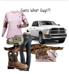 Pink Camo Outfit #CountryGirl #DodgeGirl