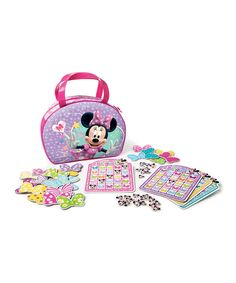 Look what I found on #zulily! Minnie Mouse Bow-tique Bingo Game by Minnie's Bow-Tique #zulilyfinds