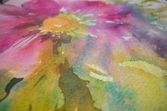 Magic on the Brush: Finding Your Love Affair With Watercolour – Angela Fehr watercolours