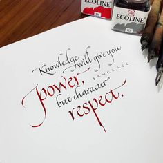 Image result for pointed italic images Calligraphy Quotes, Bruce Lee, Image, Inspiration, Biblical Inspiration, Inspirational, Inhalation
