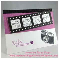 Welcome to our Stamp of the Month Blog Hop!  We will be featuring April's SOTM, which is Life In Pictures, a set of 13 stamps.  If you have come here from my friend Darlys' Blog, you ar…