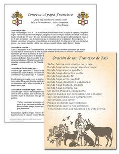Celebre con el papa Francisco y rece por él