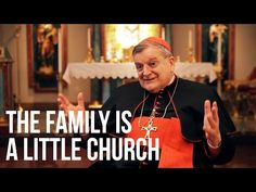 """Cardinal Burke: The Family is a Little Church - In this exclusive interview, His Eminence, Raymond Cardinal Leo Burke, shares the importance of devotionals for Catholic families and explains the role they played for him in his childhood. He reminisces about his family's devotion to the Sacred Heart of Jesus and how they used to set up a table with flowers for Mary during the month of May. This extended faith life taught him from a young age that the family is """"a little church.""""…"""