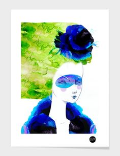 """""""the Brezze"""" - Numbered Art Print by Elena Mir on Curioos"""