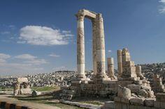 Amman, Jordan, 2009 #Amman #Jordan #Greekruins