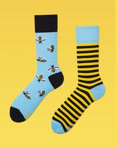 Socken - BeeBee - ein Designerstück von ManyMornings bei DaWanda