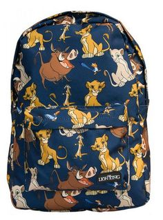 f98b06ef6e1 Lion King Allover Backpack by Loungefly Disney Nerd