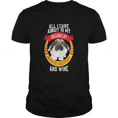 All I Care Is My Holland Lop T Shirts, Hoodies. Get it now ==► https://www.sunfrog.com/Pets/All-I-Care-Is-My-Holland-Lop-Black-Guys.html?57074 $19