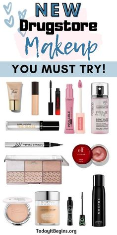 There have been so many new drugstore makeup launches lately! Here is 12 amazing… There have been so many new drugstore makeup launches lately! Here is 12 amazing drugstore makeup must have products I personally feel are worth every penny! Makeup Tips, Beauty Makeup, Eye Makeup, Fall Makeup, Beauty Dupes, Makeup Brush, Makeup Basics, Basic Makeup, Makeup Stuff