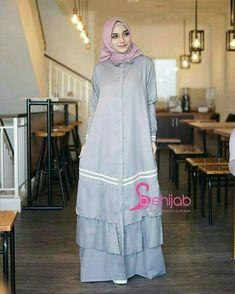 Be hijab grey 80rb mat baloteli