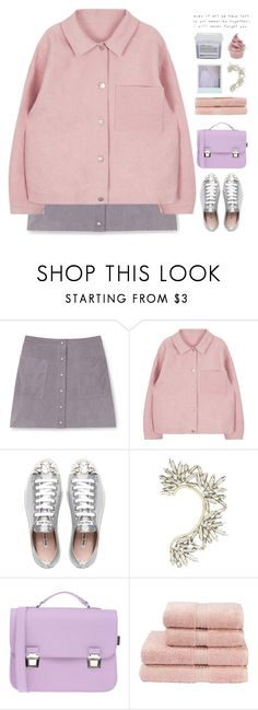 """once upon a time you were my everything"" by holunderbluete ❤ liked on Polyvore featuring Rebecca Minkoff, Miu Miu, BCBGMAXAZRIA, La Cartella, Disney, Christy, Davines, Love Quotes Scarves, skirt and rose"