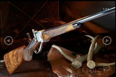 Beautiful Sharps rifle