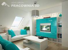 Room design image groovy white light blue living room design