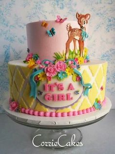 All of these are wonderful baby cakes! (And spring too!) Cake Wrecks - Home - Sunday Sweets: April Showers