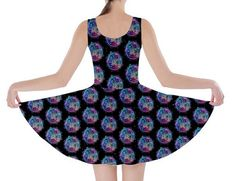 Lacey Police Box Skater Dress Size medium. These are SO comfortable.