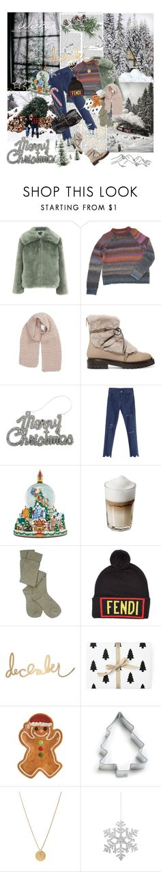 """""""frost"""" by la-rosy ❤ liked on Polyvore featuring Topshop, Zadig & Voltaire, Sole Society, Jimmy Choo, Christopher Radko, Pendleton, Fendi, Heidi Swapp, Fitz & Floyd and Ann Clark"""