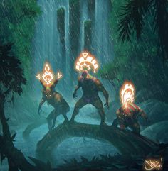 ArtStation - Jungle Demigods, Damian Fernandez Gomez