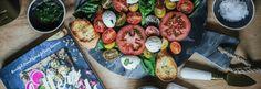 Caprese Platter with Garlic Confit