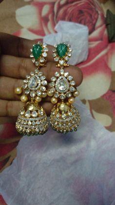 Waoooow... Pakistani Jewelry, Indian Wedding Jewelry, Bridal Jewelry, Gold Jewelry, Jewelery, Jewellry Box, Stylish Jewelry, Modern Jewelry, Fashion Jewelry