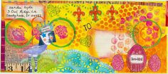 Sandees Sanity: Mail Art Altered Envelope #3