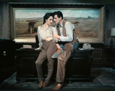 "1955– Elizabeth Taylor and Rock Hudson on the set of ""Giant.""  –Image by © Sunset Boulevard/Corbis The two Hollywood stars became good friends while making ""Giant"".  After Rock Hudson's passing due to complications from the AIDS virus in 1985, Elizabeth Taylor became very active in raising awareness and funding for AIDS research. In 1993, Taylor was awarded the prestigious Jean Hercholt Humanitarian Award by the Academy of the Motion Picture Arts and Sciences."