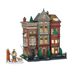 Dept 56 - Christmas In The City - East Village Row Houses by Department 56 - 56.59266