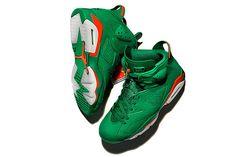 eb51fe1158e Air Jordan 6 Gatorade AJ 5986 335 Pine Green Orange Blaze Pine Green  Basketball Shoe For Sale Big Boys Youth Jeunesse Shoes