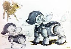 Robot Design 2010 on Behance