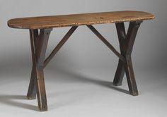 Trestle Based Tavern Table. c. 1760